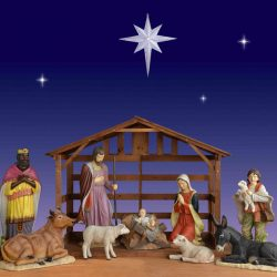 What is a Christmas nativity?