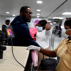 An Italian citizen who worked in Lagos is the first person with coronavirus to be identified in sub-Saharan Africa. (Image Pius Utomi Ekpei/AFP via Getty Images)