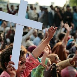 More than 300 people are murdered monthly throughout the world because of their Christian faith (image, Christian Freedom International)