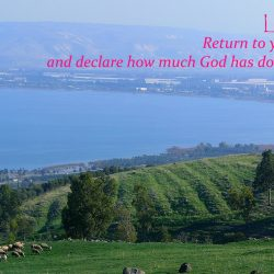 The Sea of Galilee - Monday, 12 October 2020 Daily Devotion