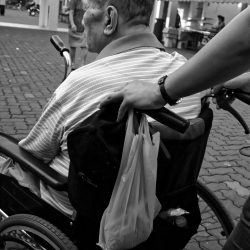 Elderly in a Wheelchair (Image by Kevin Phillips )