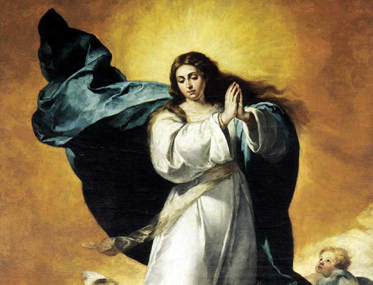 The Immaculate Conception, painted around 1652 by Bartolomé Esteban Murillo, in the convent of San Francisco in Seville, Spain