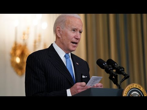 Biden says US will have enough Covid-19 vaccine doses for every adult by end of May